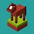 Animal In Pixels Design
