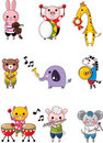 Animal play music Royalty Free Stock Photo