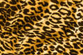 Animal print on fabric Royalty Free Stock Photos