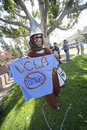 Animal Rights Activist at UCLA Protest Stock Images