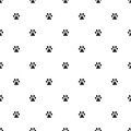 Animal`s footprint pattern