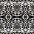 stock image of  Animal seamless kaleidoscope print