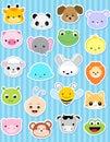 Animal sticker Royalty Free Stock Photo