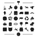 Animal, travel, ecology and other web icon in black style. advertising, horse racing icons in set collection.