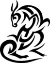 Animal In Tribal Style - Vecto...