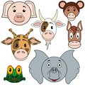 Animals Baby Set Royalty Free Stock Photos