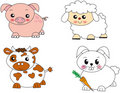 Animals farm Stock Photography