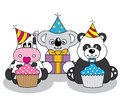 Animals party Royalty Free Stock Photo