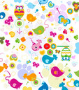 Animals pattern Royalty Free Stock Image