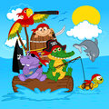 Title: Animals pirates