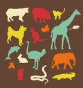 Animals set vector illustration this is file of eps format Royalty Free Stock Photo