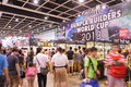Animation comics games expo hong kong acghk is the most popular summer carnival in it is packed with the toys limited edition Stock Images