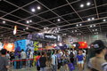 Animation comics games expo hong kong acghk is the most popular summer carnival in it is packed with the toys limited edition Royalty Free Stock Photos