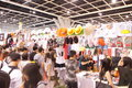 Animation comics games expo hong kong acghk is the most popular summer carnival in it is packed with the toys limited edition Stock Photo