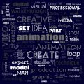 animation graphic, design, text word cloud, use for banner, painting, motivation, web-page, website background, t-shirt & shirt
