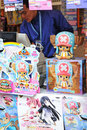 Anime vendors Stock Photography