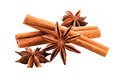Anise Cinnamon Sticks Closeup Royalty Free Stock Photo