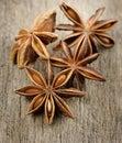 Anise stars sluit omhoog Royalty-vrije Stock Afbeelding