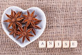 Aniseed in  cup Royalty Free Stock Photo