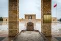 Ankara, Turkey - Mausoleum of Ataturk Royalty Free Stock Photo
