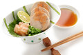 Ankimo, steamed monkfish liver Stock Image