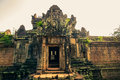 Ankor the lost city banteay samre of relic in autumn days Royalty Free Stock Images
