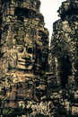 Ankor the lost city bayon of relic in autumn days Royalty Free Stock Photography