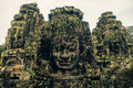 Ankor the lost city bayon of relic in autumn days i have more of them and more beautiful Stock Photo