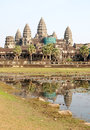 Ankor Wat, Cambodia Stock Photos