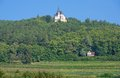 Anna chapel german wine route germany the famous at near edenkoben rhineland palatinate Royalty Free Stock Images