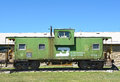 Anna Miller Museum Caboose Royalty Free Stock Photo