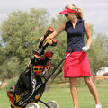 Anna Rawson, golf Ladies European Tour, Stock Photography
