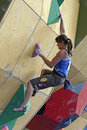 Anna Stohr - Austrian Climber Royalty Free Stock Photo
