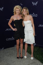 AnnaLynne McCord and Angel McCord  Royalty Free Stock Photo