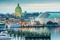 Annapolis on the Chesapeake Royalty Free Stock Photo