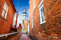 Annapolis Maryland State House Royalty Free Stock Photo