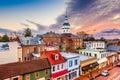 Annapolis, Maryland, USA Royalty Free Stock Photo