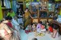 Annaprashana rituals in India Stock Images