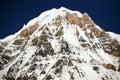 Annapurna山 库存图片
