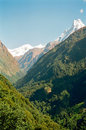 Annapurna Himalaya Mountains, Nepal Royalty Free Stock Photography