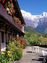 Annapurna Hotel Royalty Free Stock Photography