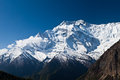 Annapurna mountain, Himalaya Royalty Free Stock Photography