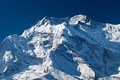 Annapurna mountain, Himalaya Stock Images
