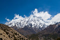 Annapurna mountain, Himalaya Royalty Free Stock Photo