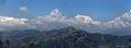 Annapurna panoramic Royalty Free Stock Photo