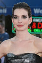 Anne Hathaway Stock Photo
