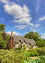 Anne Hathaway's Cottage Royalty Free Stock Photos