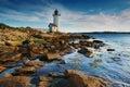 Annisquam lighthouse Royalty Free Stock Photo