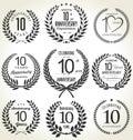 Corona diseño 10 años