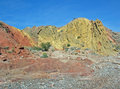 Anniversary Narrow, Calleville and Lovell Wash near Lake Mead, Nevada Stock Photos